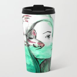 Koi Feelings Metal Travel Mug