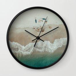The Sea Shore (Color) Wall Clock