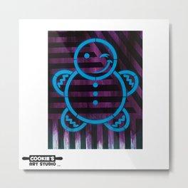 Cookie Flip Flop Metal Print