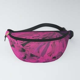 Crystal Bed Abstract Fanny Pack