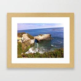 Natural Bridge Framed Art Print