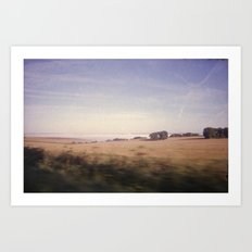 The Drive by Art Print