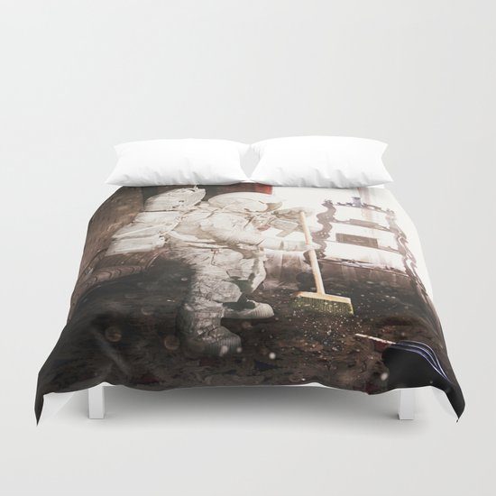 Daily Life Duvet Cover