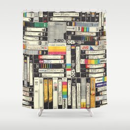 VHS I Shower Curtain