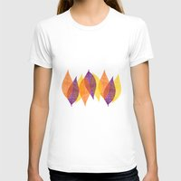 discount T-shirts featuring Fall Leaves by Katayoon Photography & Design
