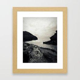 Boscastle Harbour Framed Art Print