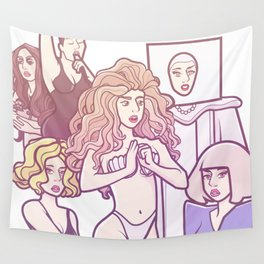 Applause VMA performance Wall Tapestry