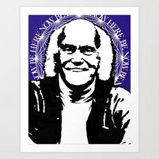 Ram Dass Art Print