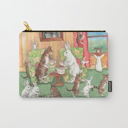 Tea with the Tabbies Carry-All Pouch