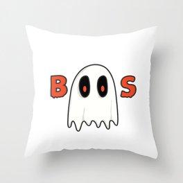 Boos Throw Pillow