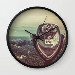 Wanderlust Vintage Tourist Binoculars Wall Clock