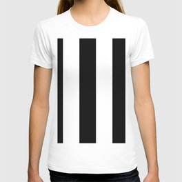 5th Avenue Stripe No. 2 in Black and White Onyx T-shirt