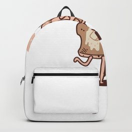 French Toast Kiss Backpack
