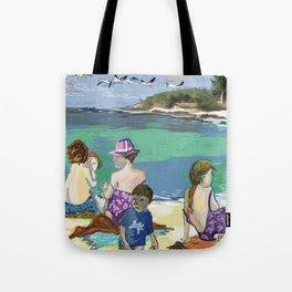Esmeralda & Brood (Saw Sea Art Series) Tote Bag