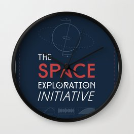 The Space Exploration Initiative Wall Clock