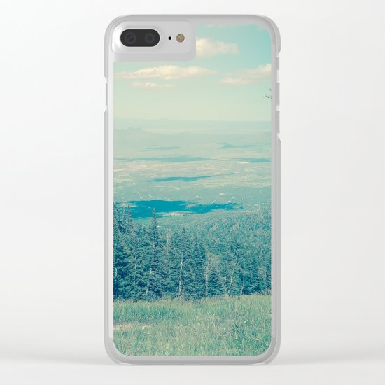 Someone Once Told Me Clear iPhone Case