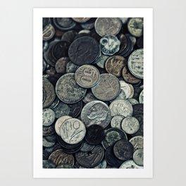 Money, money ,money Art Print