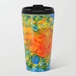 Sun Above Water Metal Travel Mug