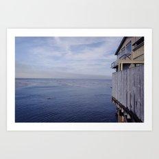 sea & dream Art Print