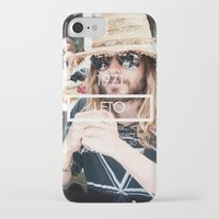 jared leto iPhone & iPod Cases featuring Jared Leto by ScarTissue