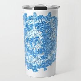 March's Blue 8 | Artline Drawing Pens Sketch Travel Mug