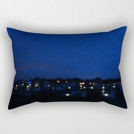 Marina Lights Rectangular Pillow