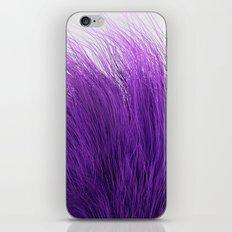 Purple Fuzz iPhone Skin