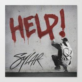 Help! Sylar Canvas Print