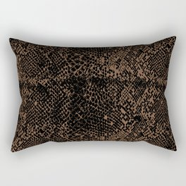 Snake Toffee Rectangular Pillow