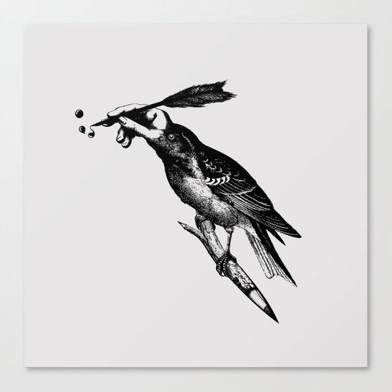 The Experimetal Artist Canvas Print