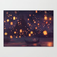 The World has Somehow Shifted Canvas Print