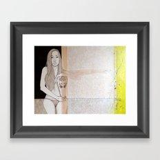 Hatful of hallow Framed Art Print