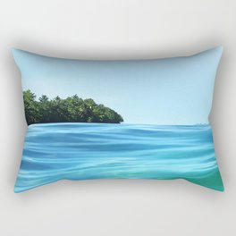The Happy Isle Rectangular Pillow