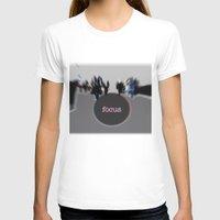 focus T-shirts featuring focus by cubik rubik