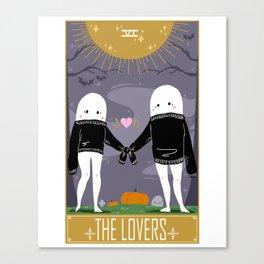 The Nightcrawler Lovers Canvas Print