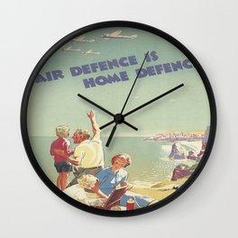 Home Defense Wall Clock