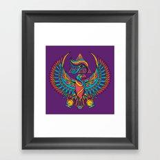 Eye of Horus Framed Art Print