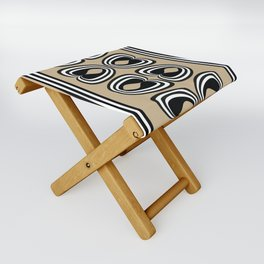 Psi Almond Buff Folding Stool
