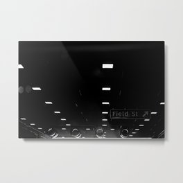 Texas Tunnel Metal Print