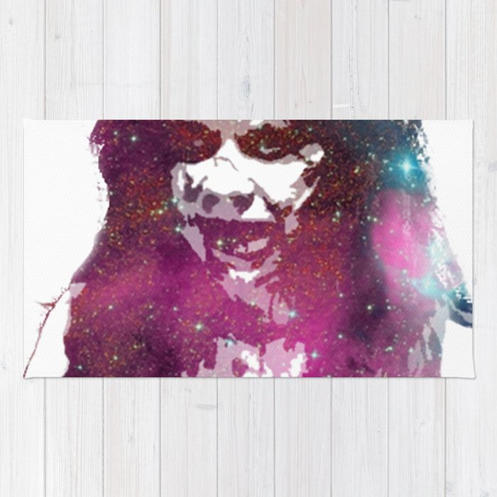 Galaxy Linda Blair Regan MacNeil The Exorcist Rug