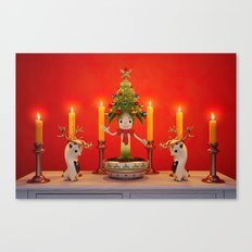 The Little Christmas Tree Canvas Print