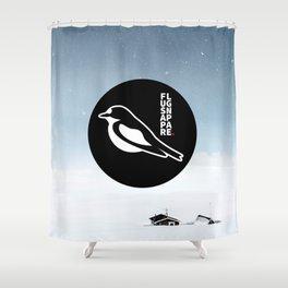 Flugsnappare Shower Curtain