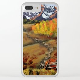 Window to Telluride Clear iPhone Case