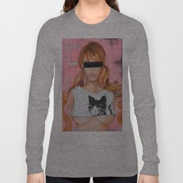 Here Kitty Kitty Long Sleeve T-shirt