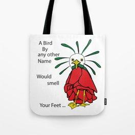 Rose Bird Tote Bag