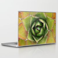montana Laptop & iPad Skins featuring Agave Montana by Awispa