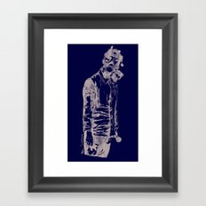 Pass The Mic Framed Art Print