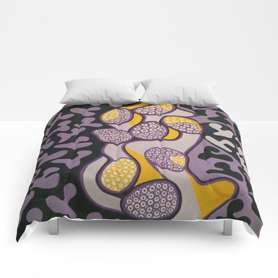 Yellow gossip Comforters