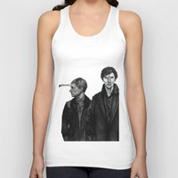 cabin pressure Tank Tops featuring Pressure Points by Charlotte Hussey