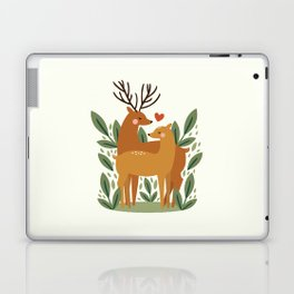 Deer Love Laptop & iPad Skin